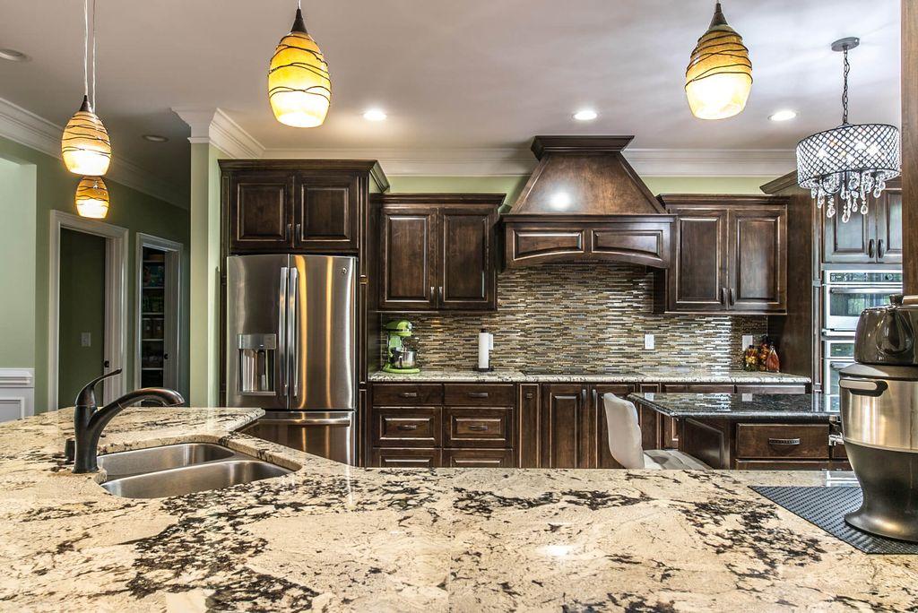Delicatus White Granite Kitchen Countertops