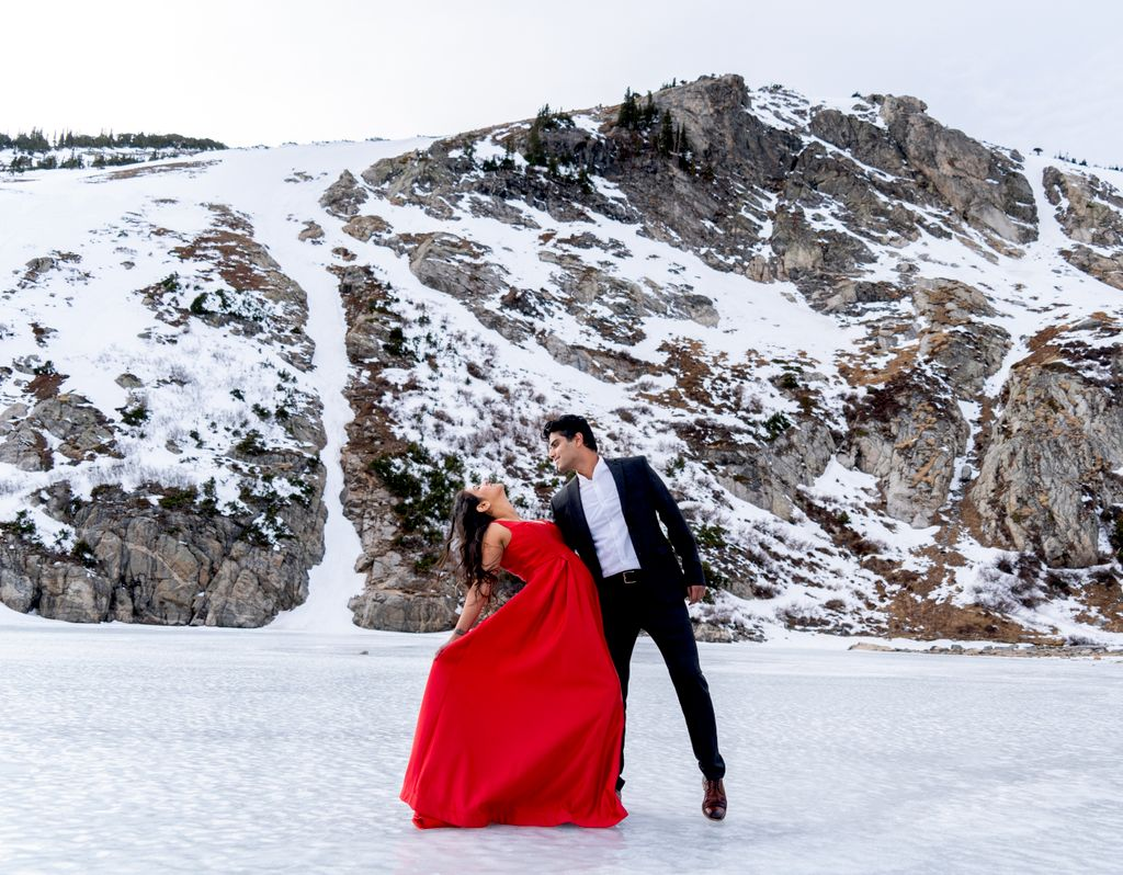 Saint Mary's Glacier Engagement