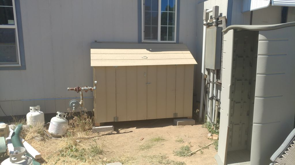 Water Filtration Cabinet