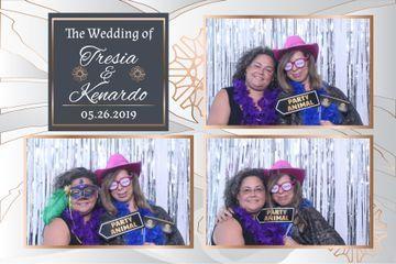 Tresia & Kenardo Holmes Wedding