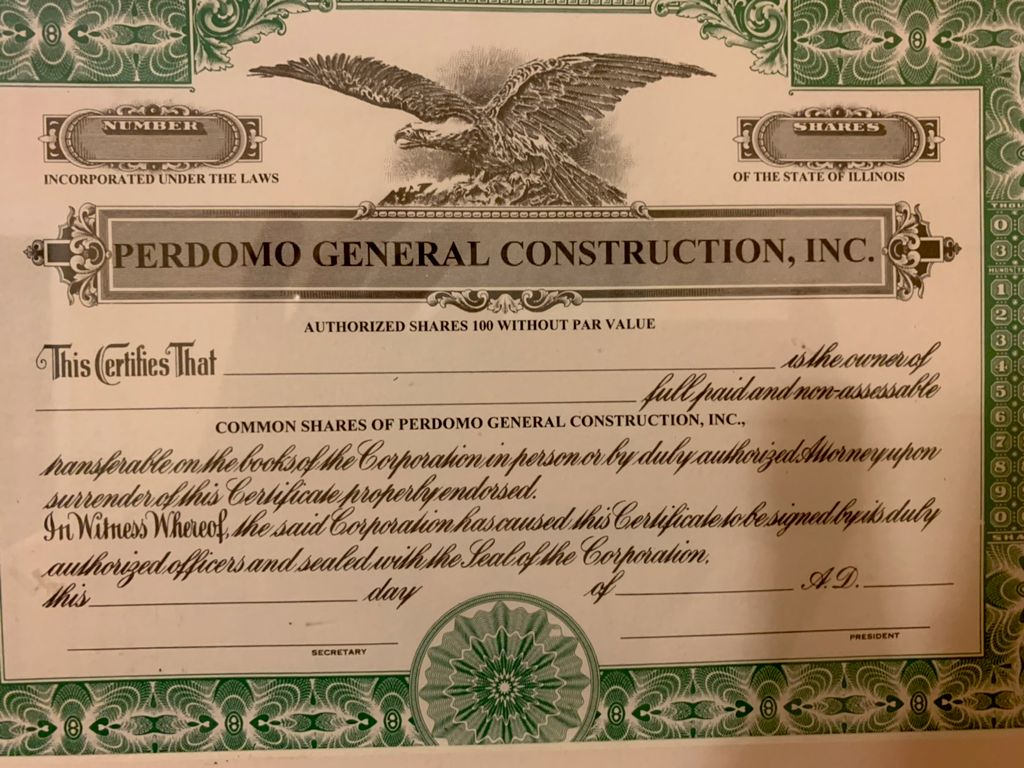 Perdomo Construction Inc.