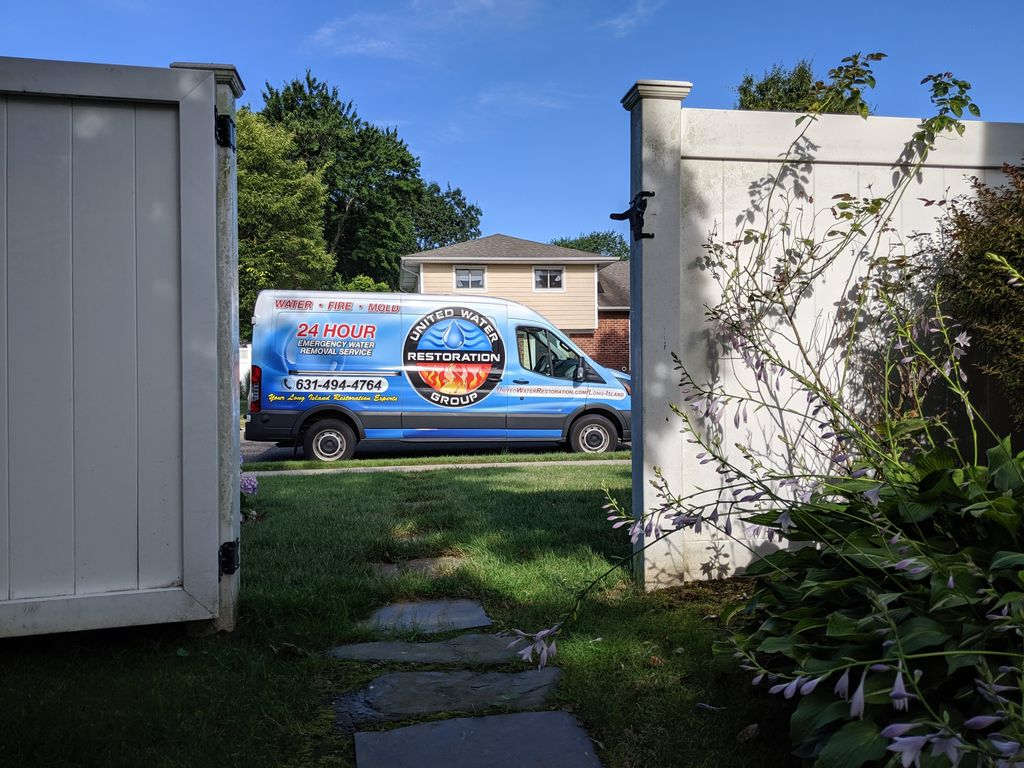Full basement water mitigation, demolition, & dry out