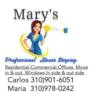 Avatar for Marys professional housekeeping Wilmington, CA Thumbtack