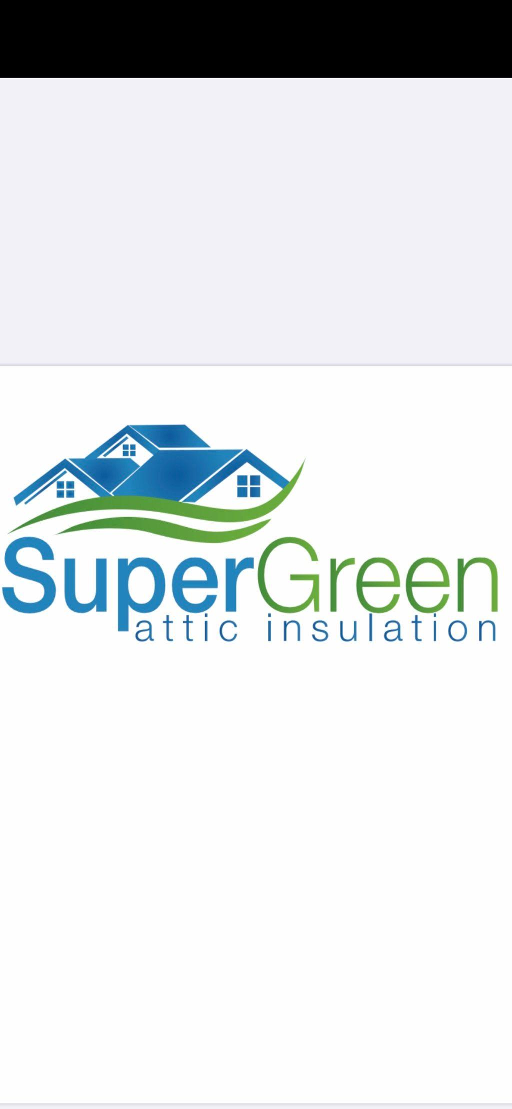 SuperGreen Attic Insulation