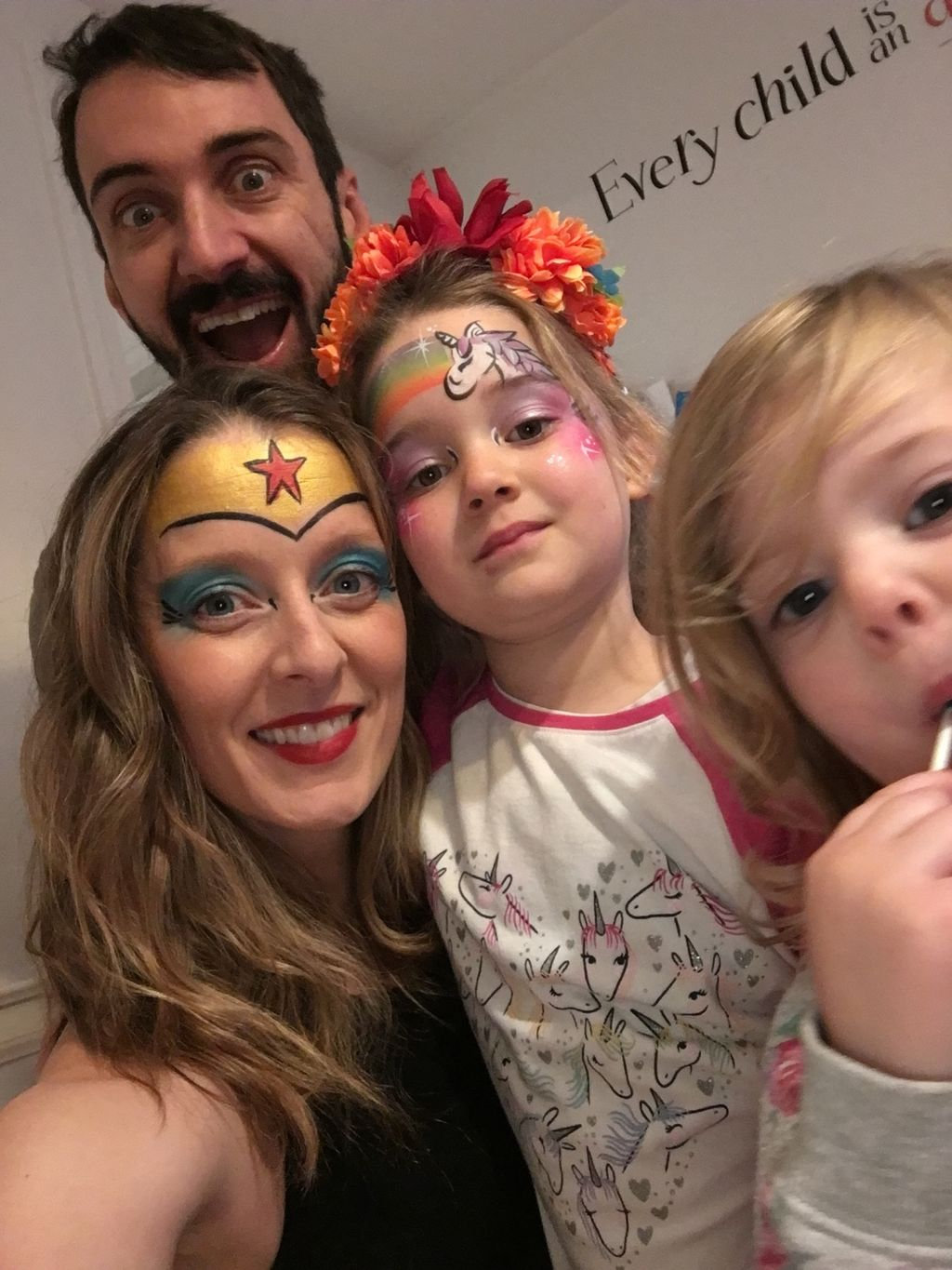 Deluxe Face Painting at Birthday Party