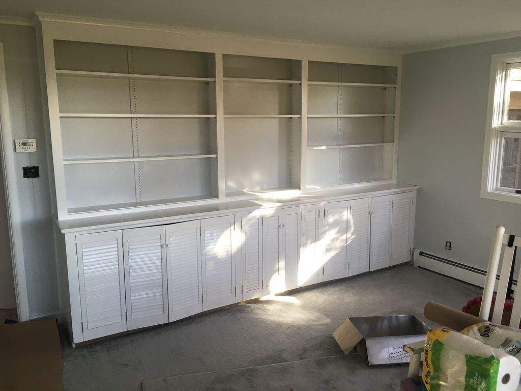 Built In Cabinet Conversion
