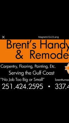 Avatar for Brent's Handyman & Remodeling Services (Experienced & Insured) Foley, AL Thumbtack