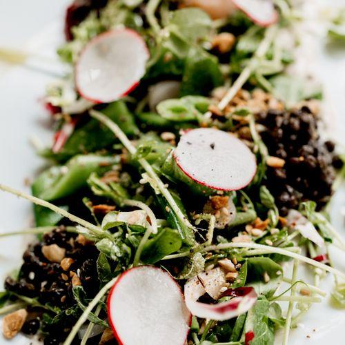Spring Snap Pea Salad