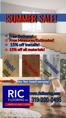 Avatar for RIC Flooring inc Marion, IA Thumbtack