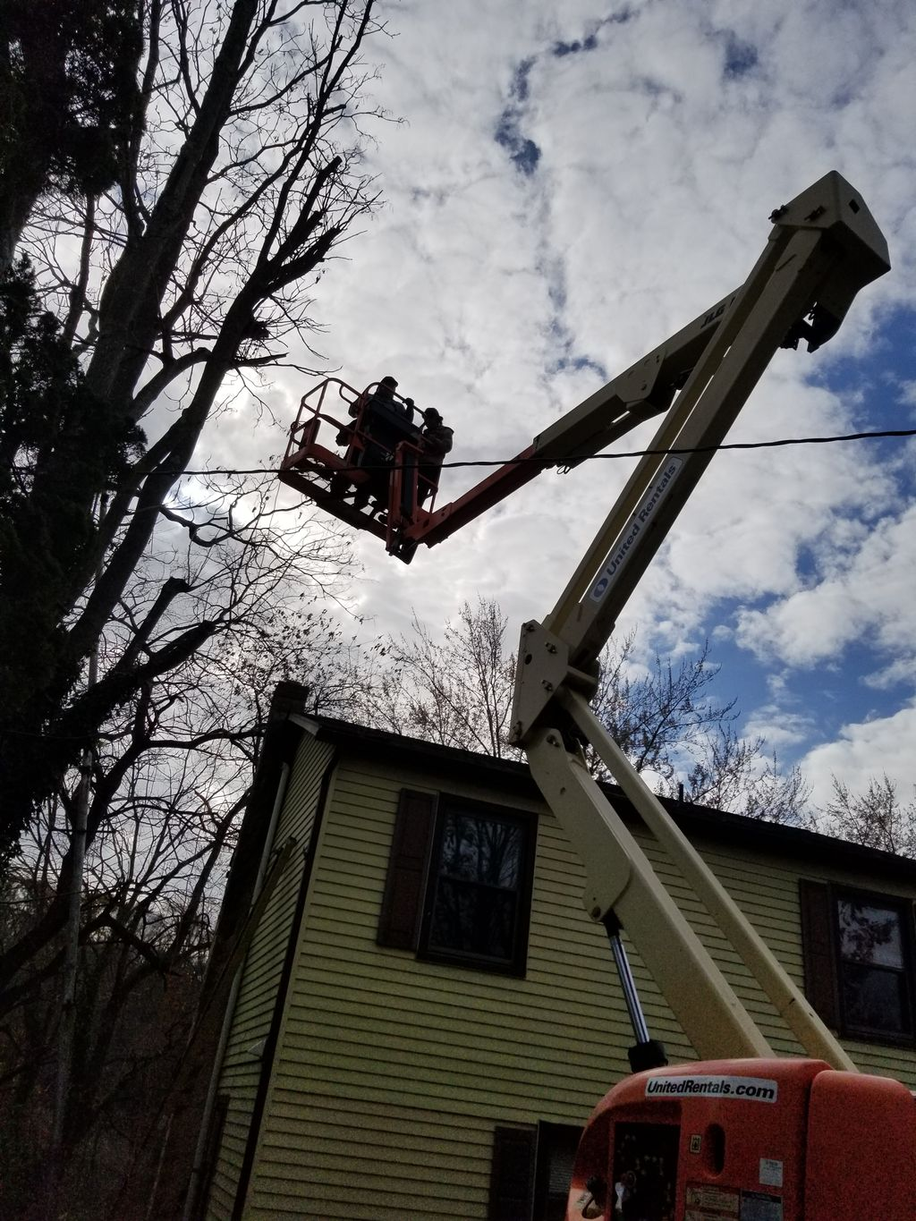 Removal of 50 foot tower