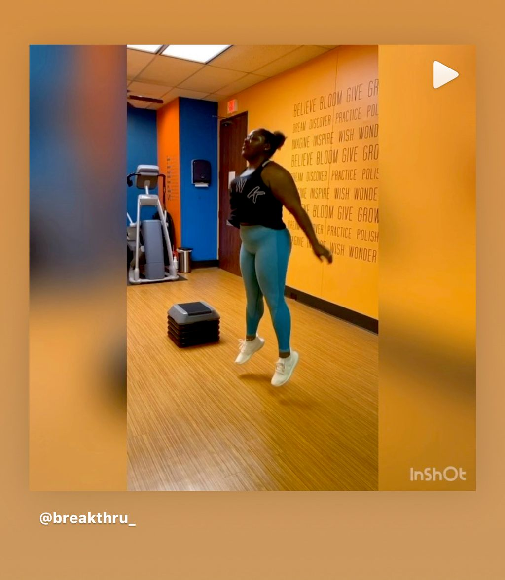 Personal Training - Jumping with a purpose - New Orleans 2019
