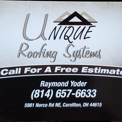 Avatar for Unique Roofing Systems Carrollton, OH Thumbtack