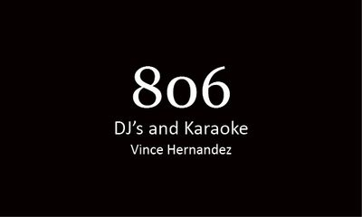 Avatar for 806 DJ's and Karaoke