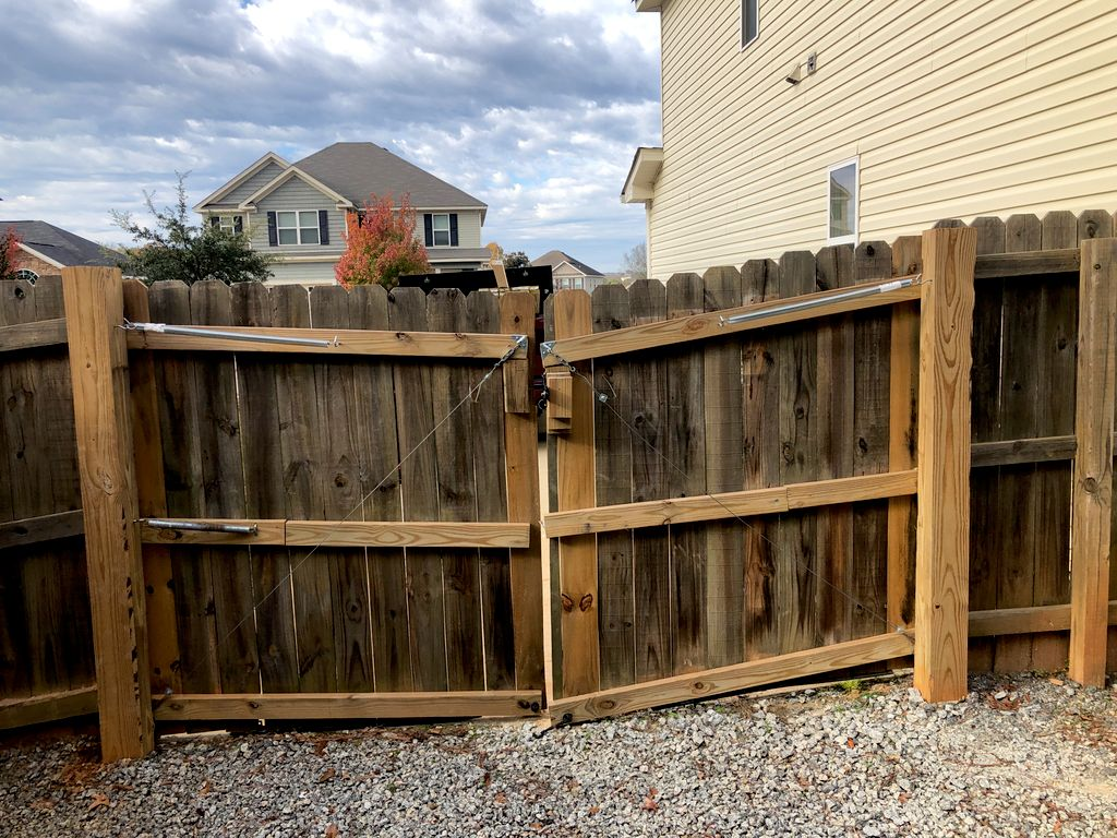 Gate replacement
