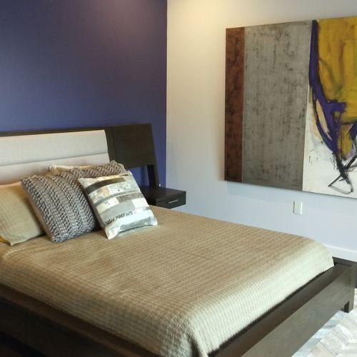 Modern Wine Country Bedroom