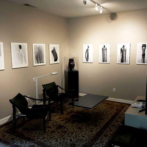 Artful media room, Petaluma, CA