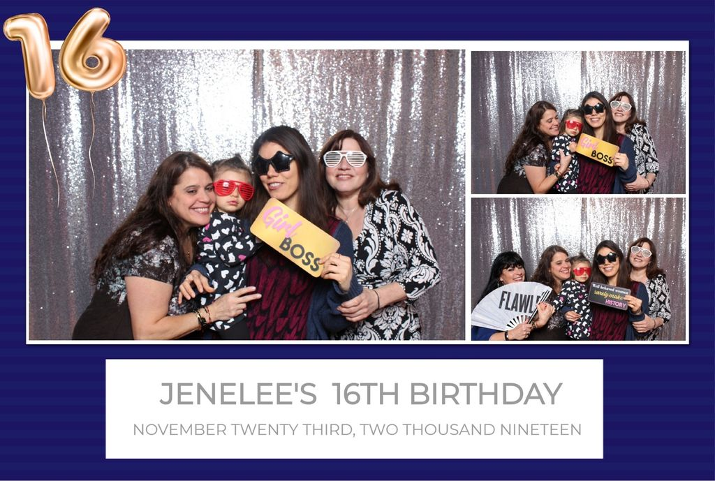 Sweet 16 - Photo Booth Rental 2019