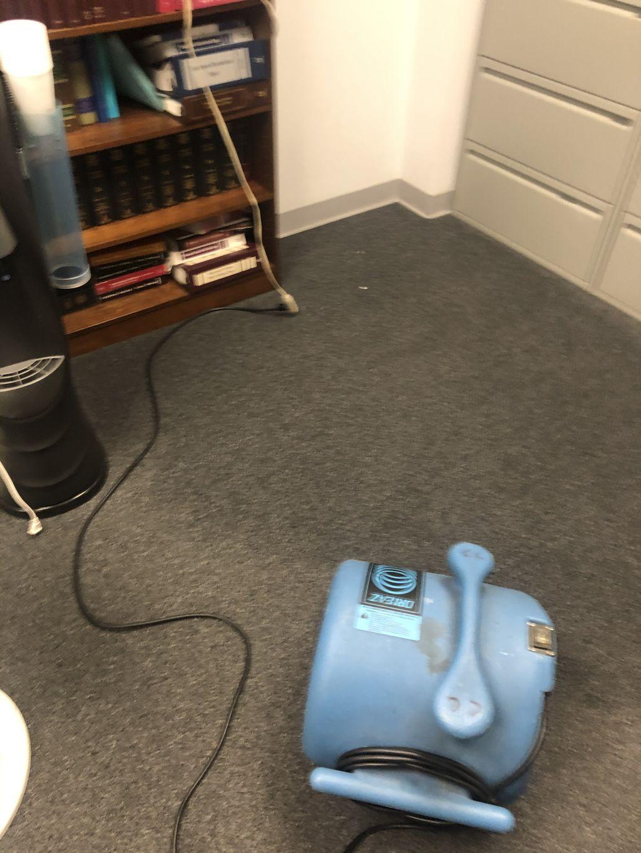 Water cooler leak