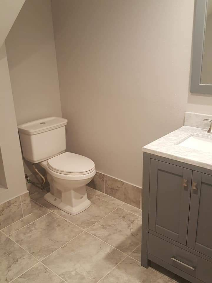Toilet Install and finish