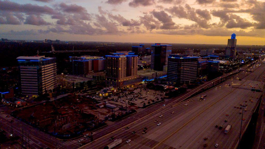 Corporate Building Aerial