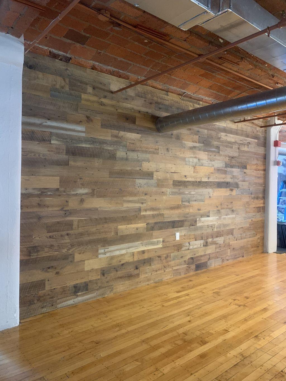 Wall board installation