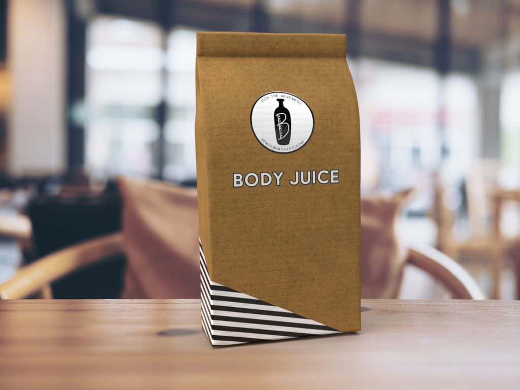 Custom Packaging for Body Juice