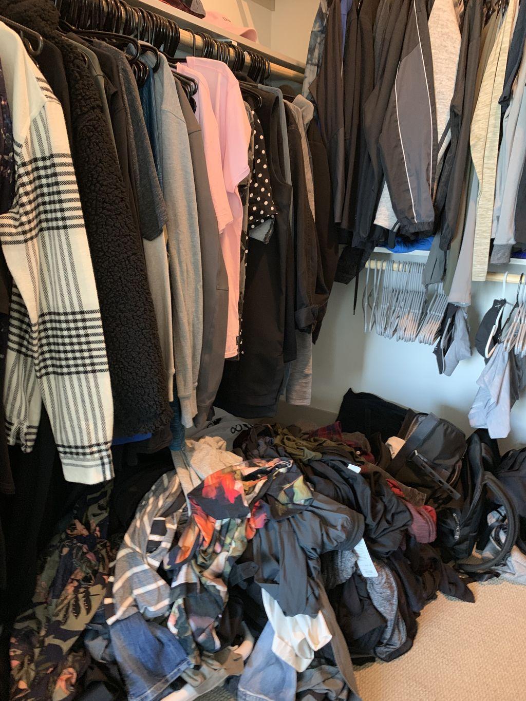 A Bachelor's Closet