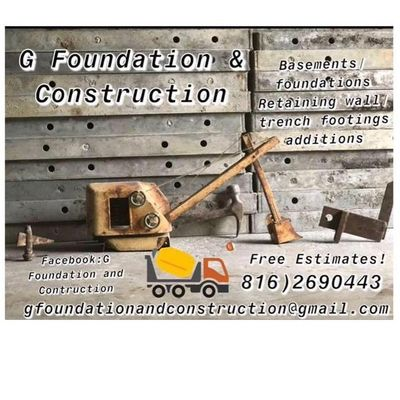 Avatar for G FOUNDATION & CONSTRUCTION LLC