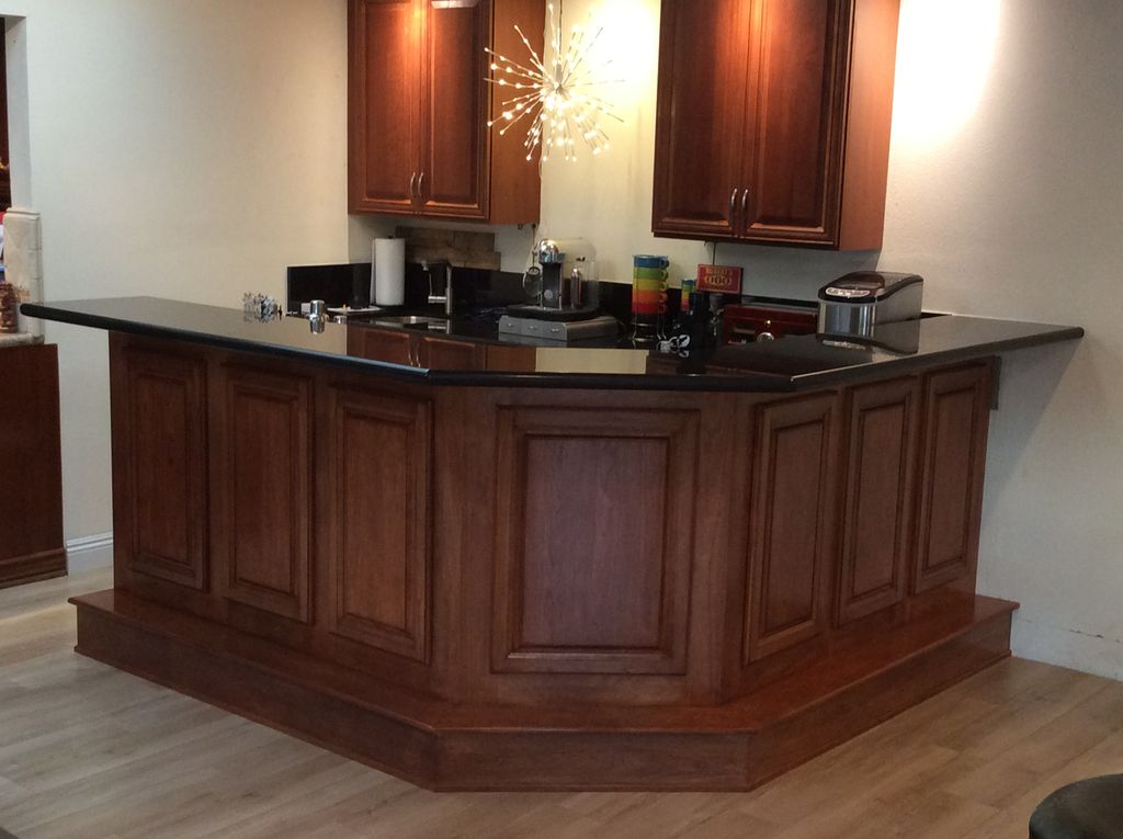 Woodworking cabinetry
