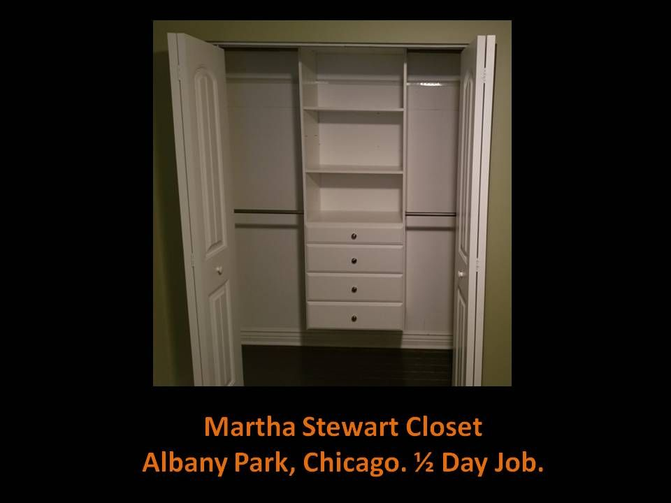 Closet and Shelving System Installation - Chicago 2019