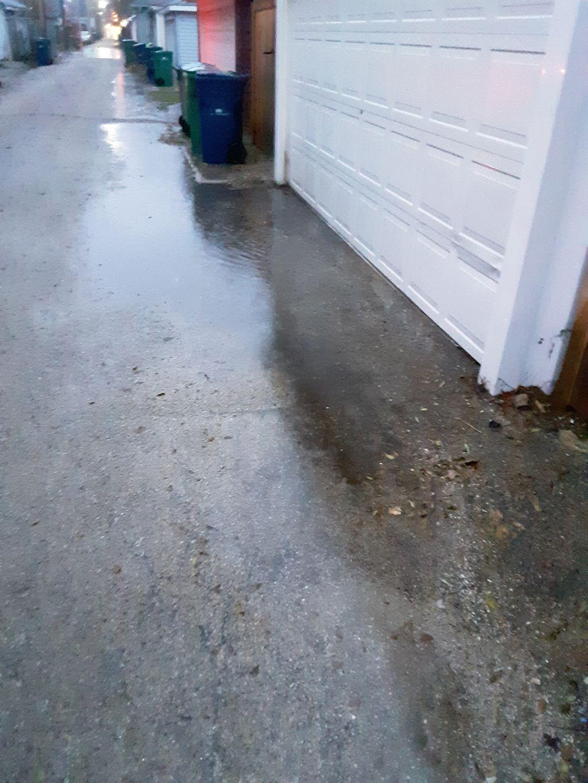 Garage threshold repair