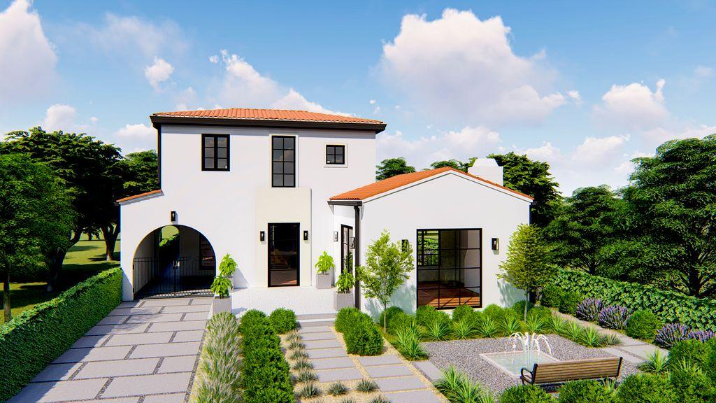 3D Renders Single Family House