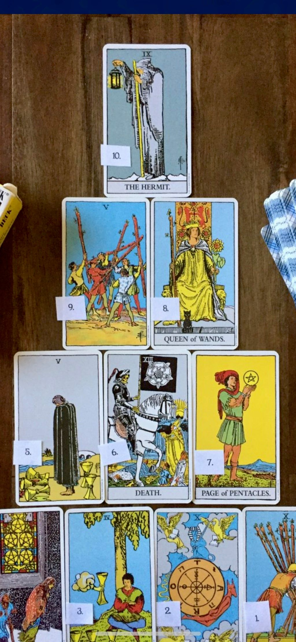 Psychic Palm and tarot card reading by Val