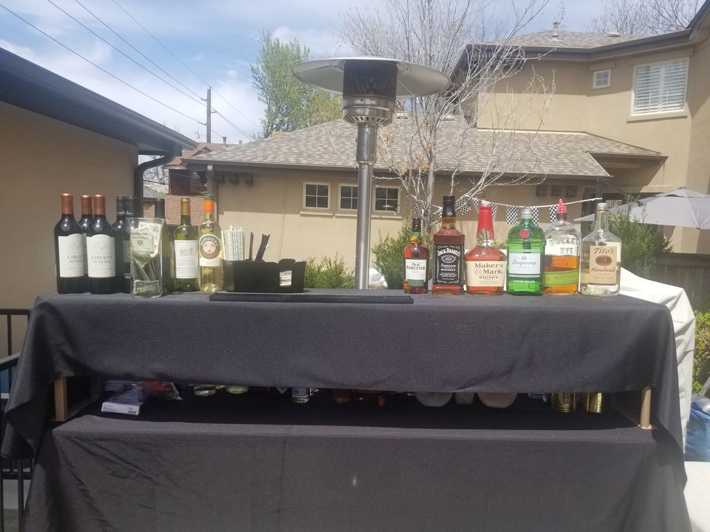 Outdoor Cocktail Party