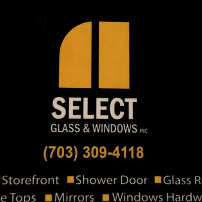 Select glass and windows inc Arlington, VA Thumbtack