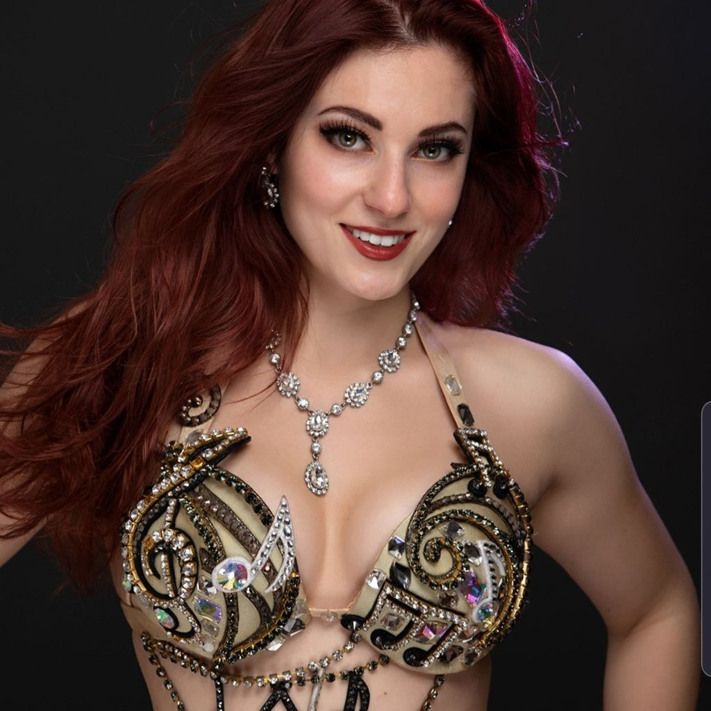 Mary W Fire and Belly Dancer