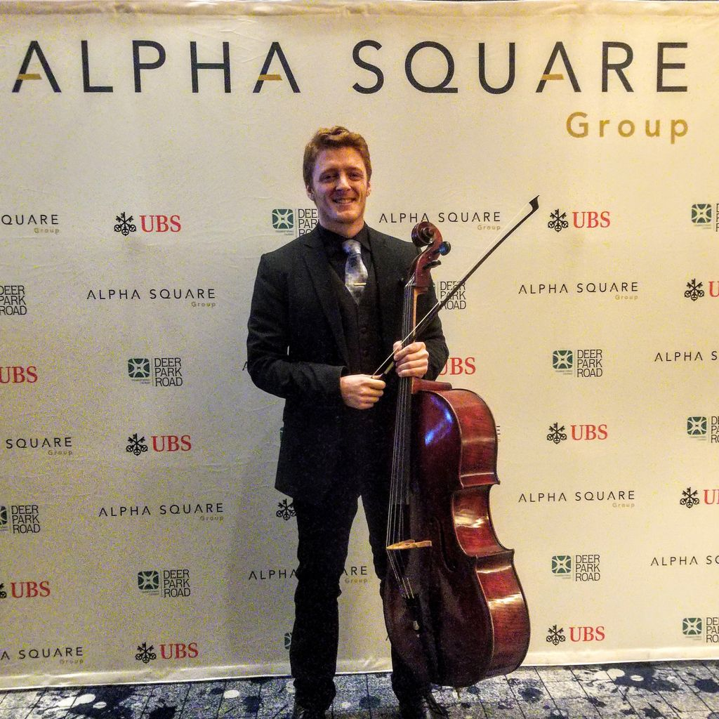 Alpha Square Solo Cello Cocktail Hour