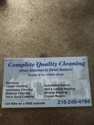 Avatar for Complete Quality Cleaning