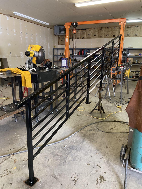 Cherry creek handrail