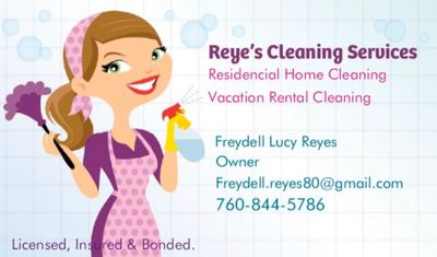 Avatar for Reye's Cleaning Services  (Lucy) Cathedral City, CA Thumbtack