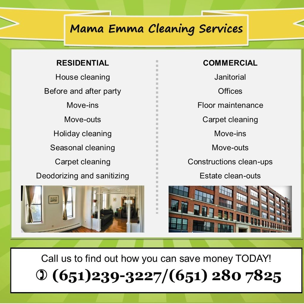 Mama Emma  Cleaning Services