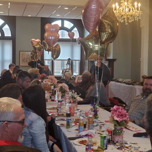 80 and Fabulous at Elks Lodge