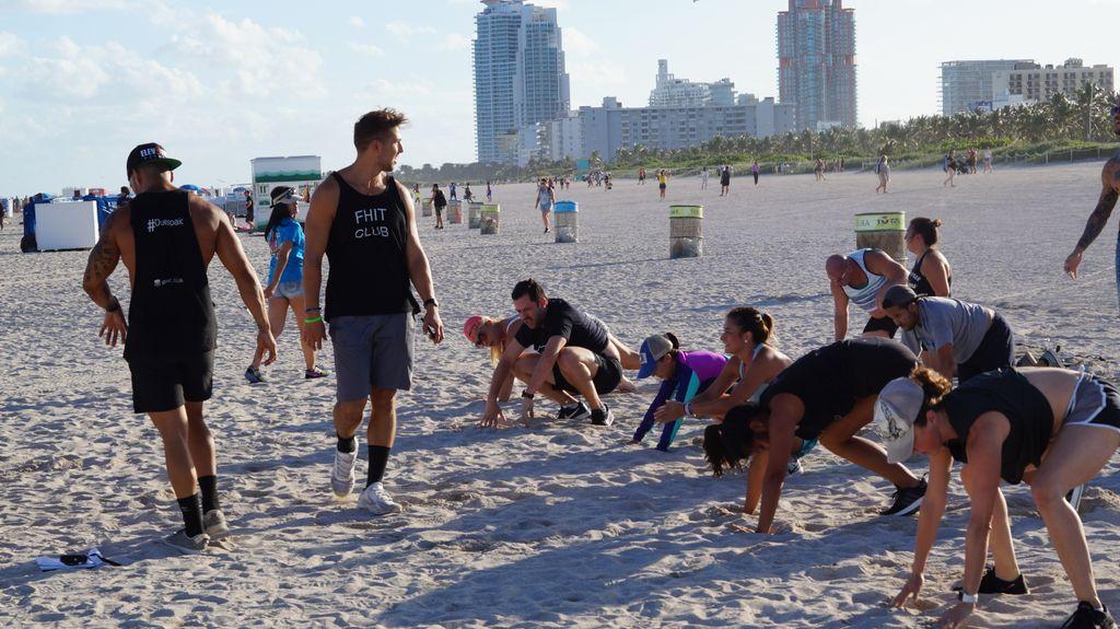 Beach Bootcamp Clean Up