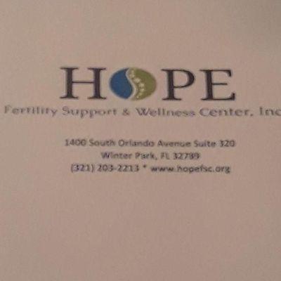 Avatar for Hope Fertility Support & Wellness Center, Inc. Winter Park, FL Thumbtack