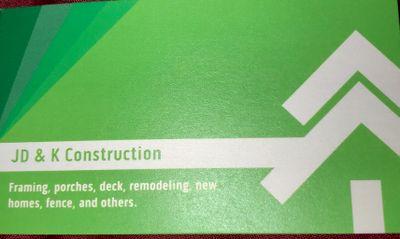 Avatar for JD&K CONSTRUCTION Rocky Point, NC Thumbtack