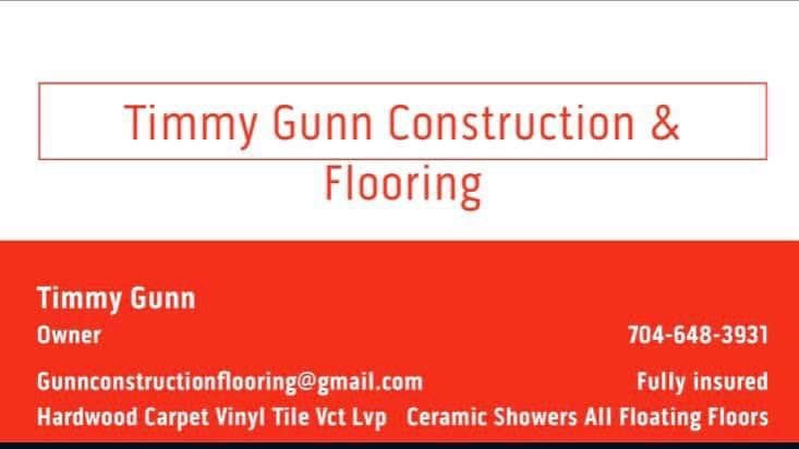 Timmy Gunn Construction & Flooring