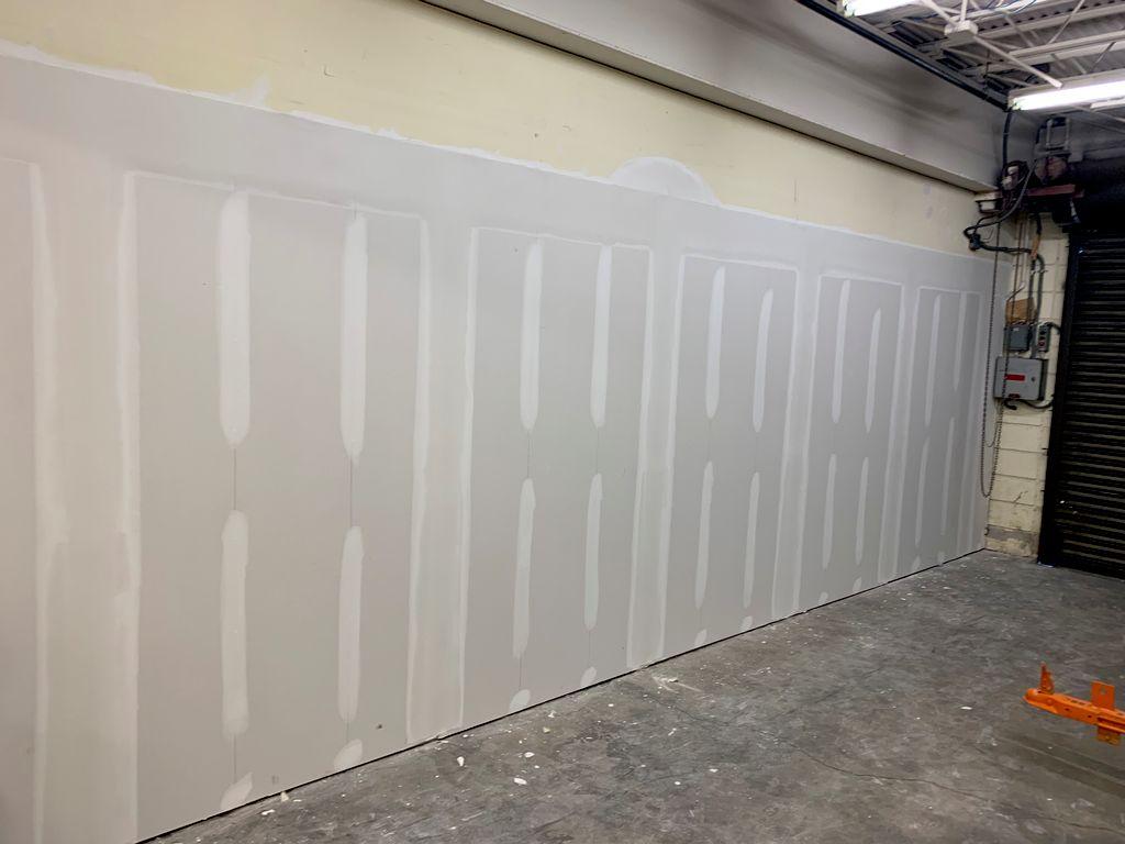 Drywall hang & finishing 400 sheets
