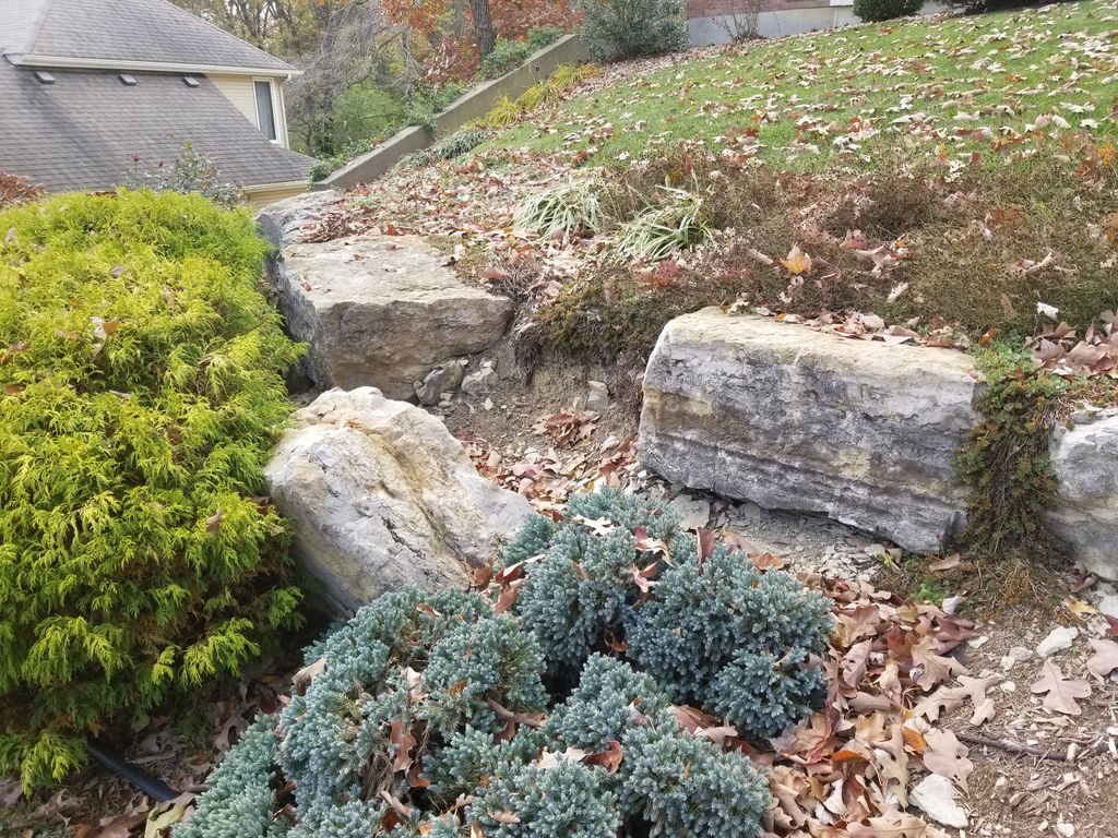 Replace Retaining Wall  & Landscape replacement