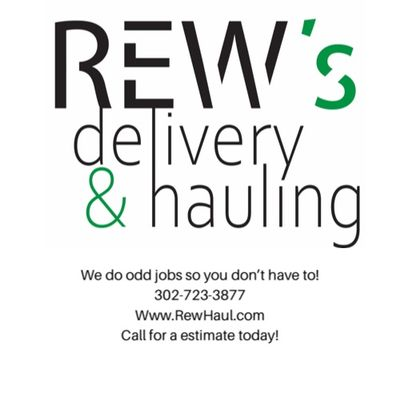 Avatar for Rew's Delivery & Hauling Services Newark, DE Thumbtack