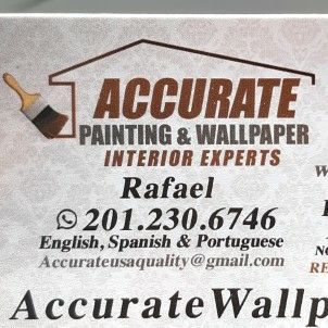 ACCURATE WALLPAPERING, PAINTING, DRYWALL, DECAL Newark, NJ Thumbtack
